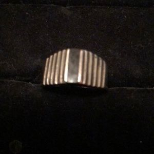 Unisex Sterling Silver Mexico 🇲🇽 Ring SZ 8